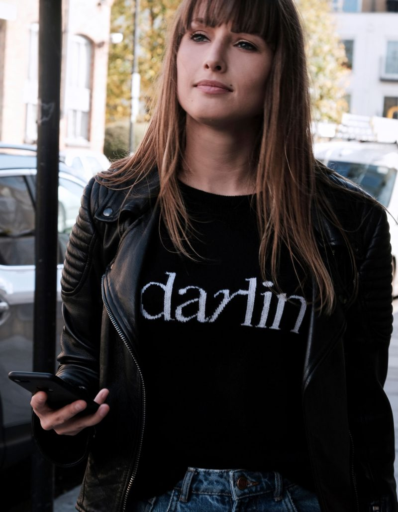 Darlin Black Cashmere by Malin Darlin