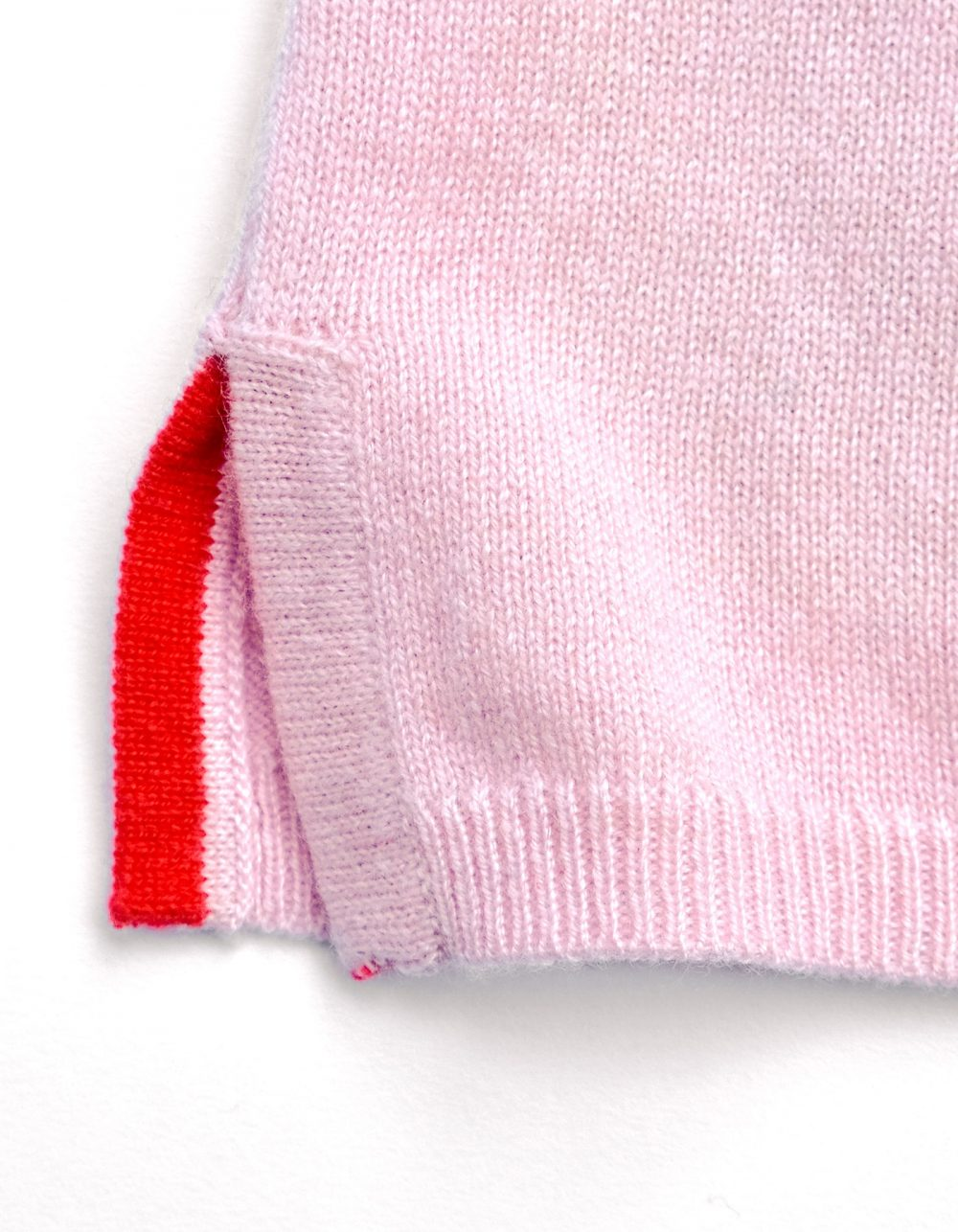 Darlin Pink Cashmere Jumper by Malin Darlin