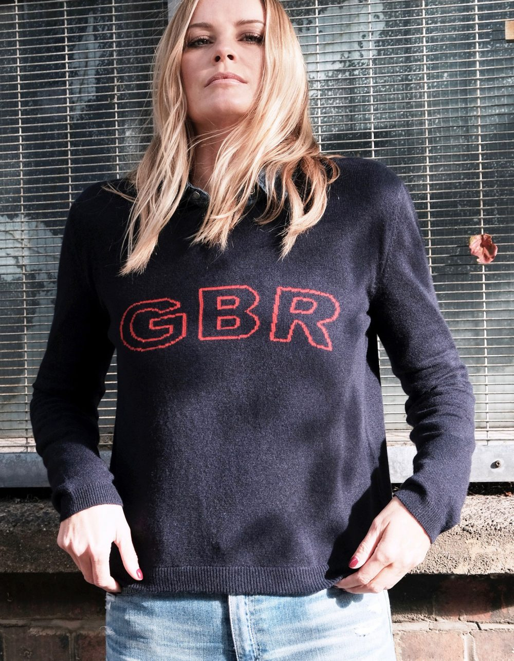 GBR Cashmere Intarsia by Malin Darlin