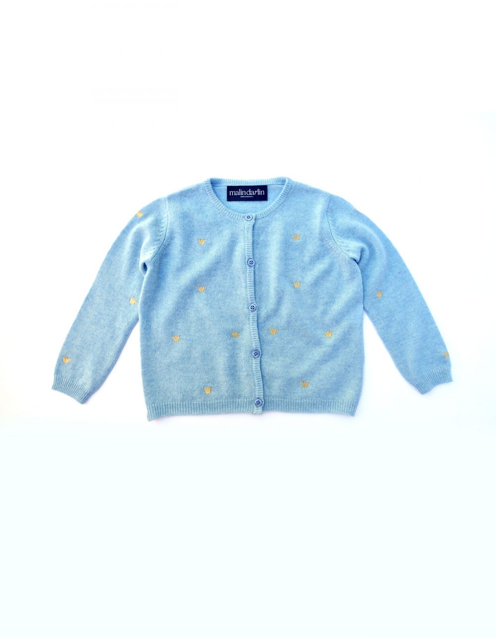Baby Cashmere Cardigan by Malin Darlin