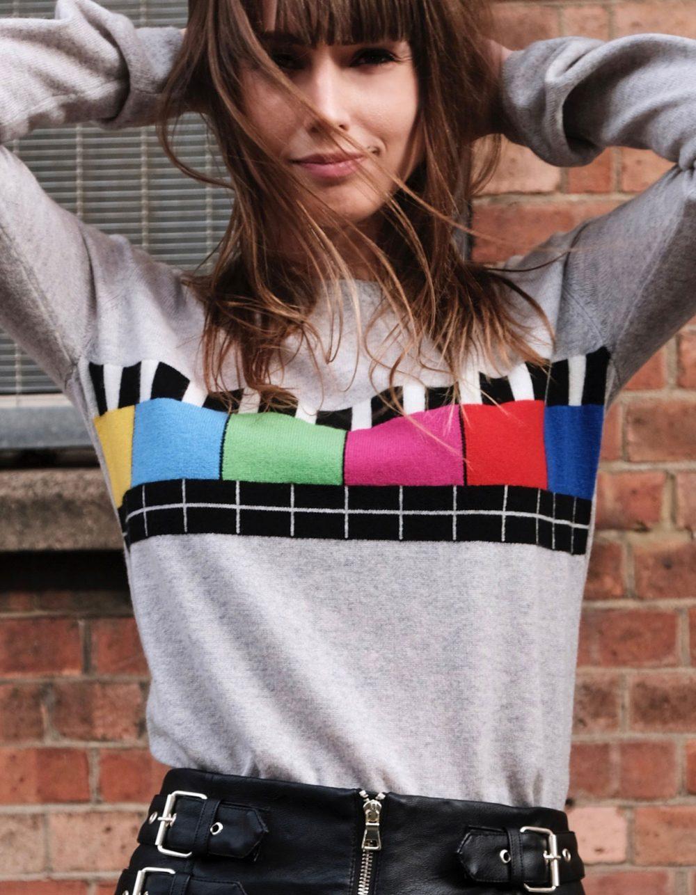 Test Bild Cashmere Multicolour by Malin Darlin