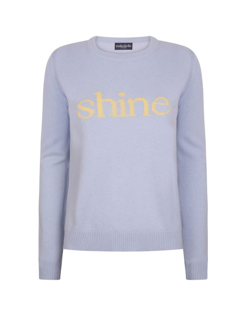 malin darlin Shine womens cashmere jumpers.