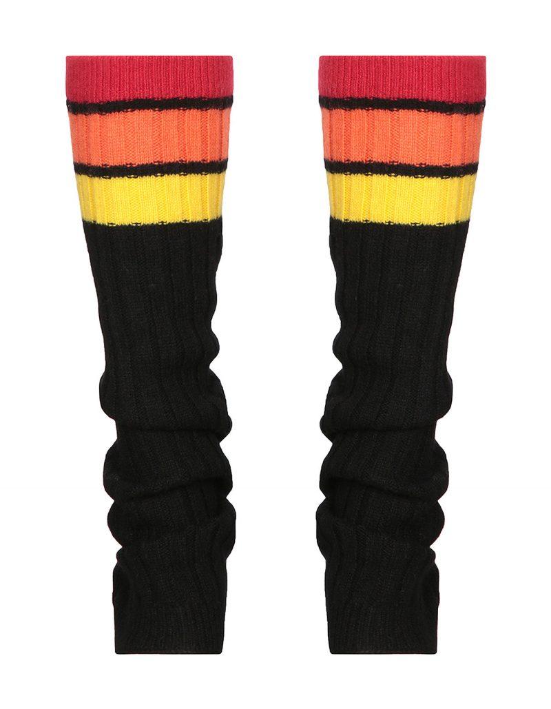 malin darlin cashmere lefwarmers inspired by Flashdance.